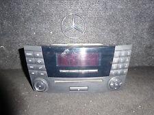 V159-29* Mercedes Benz W211 E Klasse Tele Audio 20 CLS CD Radio A2118701289