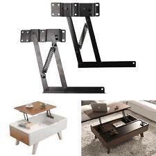 2 x Klappscharnier Klappenträger Klappenhalter Klappenbeschlag für Lift Up Tisch