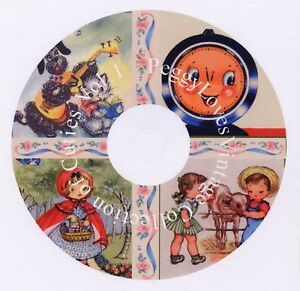 Collection of Cuties Vol 1 CD  Vintage Greeting Card Images