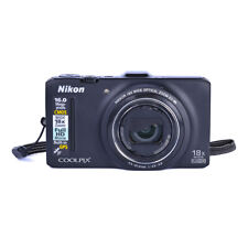 Coolpix S9300 16MP Nikon Digital Camera *Tested, Works. No Charger*