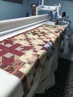 Long Arm Quilting Service Full  Size Quilt