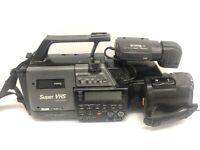 JVC GR-S707 Super VHS SVHS Camcorder Camera Recorder/Player
