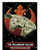 2015 STAR WARS THE FORCE AWAKENS HEROES OF THE RESISTANCE R-8 MILLENNIUM FALCON