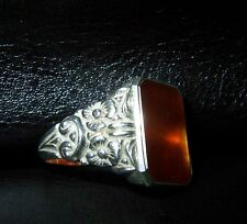 Carneol Art Deco  Carneol 835 Silber Ring