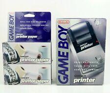 Nintendo Game Boy Printer & 6 Rolls of Printing Paper