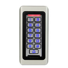 Metal RFID Proximity Card Door Access Control Keypad Waterproof for 2000 User US