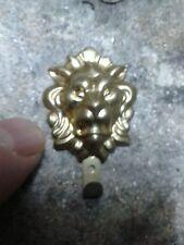 30 GANCI x QUADRO leone col bronzo ARTISTICi barocco vintage HOOK ARTISTIC
