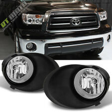 For 07-13 Toyota Tundra 08-11 Sequoia Bumper Fog Lights+Switch+Covers Left+Right