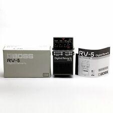 BOSS RV-5 Digital Reverb Guitar Effect Pedal
