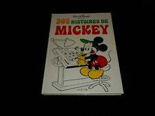 Walt Disney : 365 histoires de Mickey Editions Hachette 1978