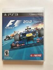 PS3 - Formula 1 - 2012 Codemasters Racing Game - CIB Complete