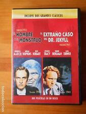 DVD EL HOMBRE Y EL MONSTRUO (1932) / EL EXTRAÑO CASO DEL DR. JEKYLL (1941) (F3)