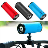 IP56 Waterproof Wireless Bluetooth Speaker with LED Flash Light for Bike Cycling