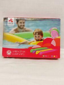 Pool Beach Inflatable Dinosaur Twisty Tube Birthday Gift Play Toys Purple Yellow