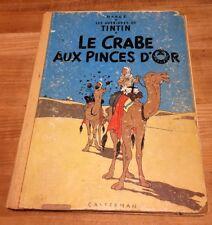 Tintin Le crabe aux pinces d'or (1957-58?)
