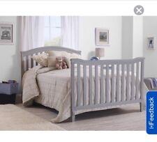Sorelle Berkley 4-in-1 Convertible Crib Full Size Conversion Rail - Gray