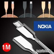 Metal Micro USB Data Sync Charging Charger Cable For Various Nokia Lumia Phones