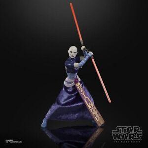 6 Inch Asajj Ventress Clone Wars Figure Star Wars Black Series Collection LOOSE