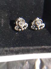 Pandora Sterling Silver 925 Ale stud Earings boxed
