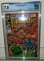 FANTASTIC FOUR Annual #6 CGC 7.0 1st app of ANNIHILUS & Franklin Richards MARVEL