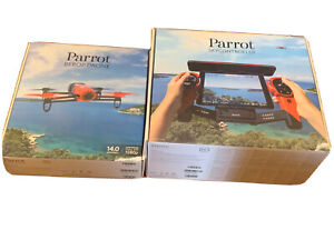 Parrot BeBop 14 MP Camera Drone - Red + Skycontroller
