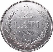LETTLAND  KM 8  2 Lati  1925   VZ    502207