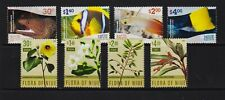 Niue - Fish, Local Flora - 2 sets, cat. $ 24.00