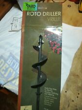 "ROTO DRILLER 9"" will loosen dense soils & bulb planting"