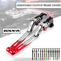 New Brake Clutch Lever Folding for SUZUKI GSXR 600 750 K6 06-10 GSX-R 1000 05-06