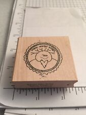 Inky Antics Rubber Stamp-Warm Winter Wishes