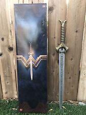 """30"""" OFFICIAL LICENSED Wonder Woman God Killer Prop ALL METAL SWORD LIMITED NEW"""