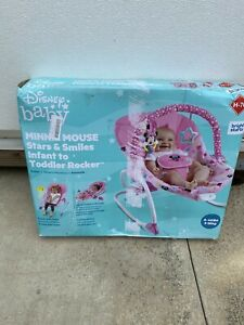 Stars & Smiles Infant to Toddler Rocker Minnie mouse