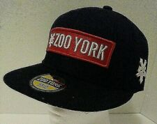 ZOO YORK Brand Black/Red BASEBALL HAT Street Skate Wear Classic Gym Cap One Size