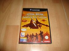 Pal version Nintendo GameCube Star Wars las guerras clon
