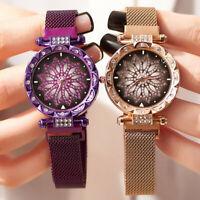 Luxury Starry Sky Watch Waterproof Magnet Strap Buckle Stainless Women Gifts New