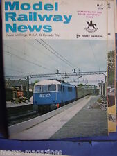 MODEL RAILWAY NEWS MAY 1970 MIDHAVEN SHED OMEGA LOOPS NUREMBERG COLBY STATION