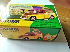 CORGI 06601 MORRIS 1000 Advance Publicity Van Set Carters Stream Fair