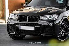 Kühlergrill Frontgrill Set schwarz hochglänzend lackiert BMW X3 F25 LCI salberk