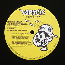 FUNKMASTER FLEX And The Ghetto Celebs Nuttin But Flavor Remixes WRECK US 1995