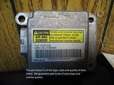 AIR BAG CONTROL MODULE ECM COMPUTER 99 SATURN S SERIES