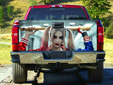 Harley Quinn Full Color Tailgate Wrap, Truck Decal, Tailgate Sticker MW179