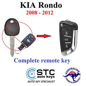 Kia Rondo Complete All in 1 Remote Transponder Flip key 2008 2009 2010 2011 2012