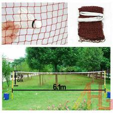 6.2m X 0.75m Standard Hem Braided Badminton Net for Sport Training Exercise H/_VV