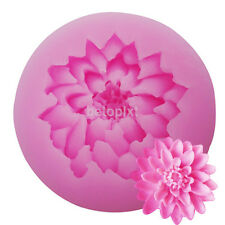 New 3D Lotus Silicone Mold Chocolate Mold Cake Decorative Mold Baking Tool