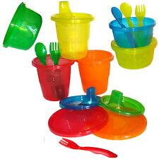 Baby Set Trinkbecher Schälchen Besteck Dosen Deckel BPA frei The First Years neu