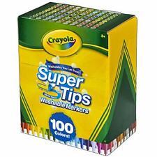 Crayola - Viltstiften met Superpunt (100St.) - NEW
