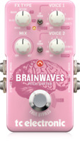 New TC Electronic Brainwaves Pitch Shifter Guitar Effects Pedal