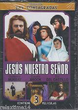 Jesus Nuestro Señor -DVD-NEW 3 Peliculas En 1-JESUS,MARIA Y JOSÉ(1972)