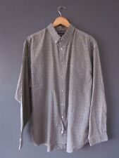 VINTAGE 80 S Ellese Shirt (Xl) Sage. COTONE-Blend manica lunga Terrazza Casual