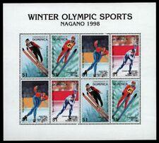 Dominica 1997 - Mi-Nr. 2372-2375 ** - MNH - KLB - Olympia Nagano